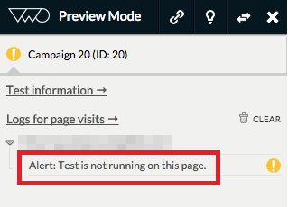 Troubleshooting: Unable to Preview Tests – VWO