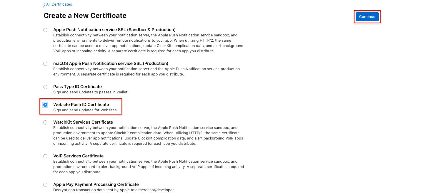 Configure VWO Engage For Safari Notifications – VWO